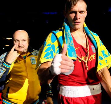 Дмитрий Сосновский и Александр Усик