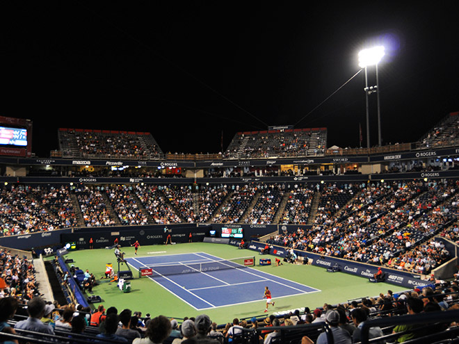 Aviva Centre. Rogers Cup