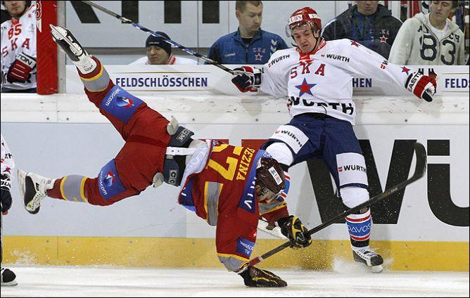 Первый матч СКА на Кубке Шпенглера на главном спортивном канале страны показан не был.