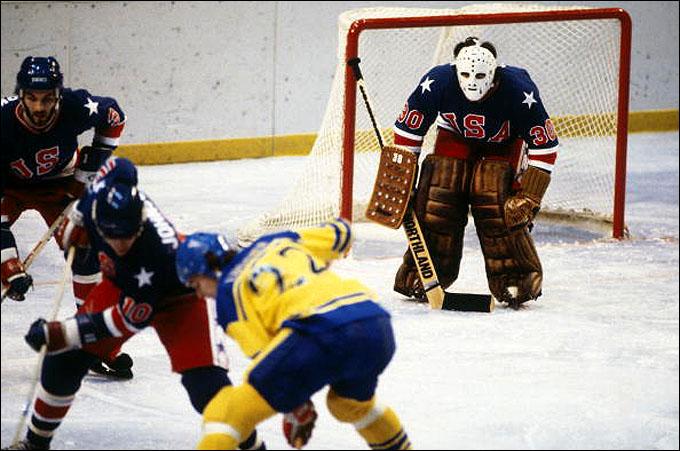 Олимпийская сборная США против сборной Швеции