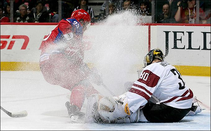 30 декабря 2011 года. Квебек. Молодежный чемпионат мира. Латвия — Россия — 0:14