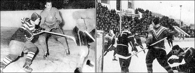 Хоккей. Чемпионат мира-1954. Фото 02.
