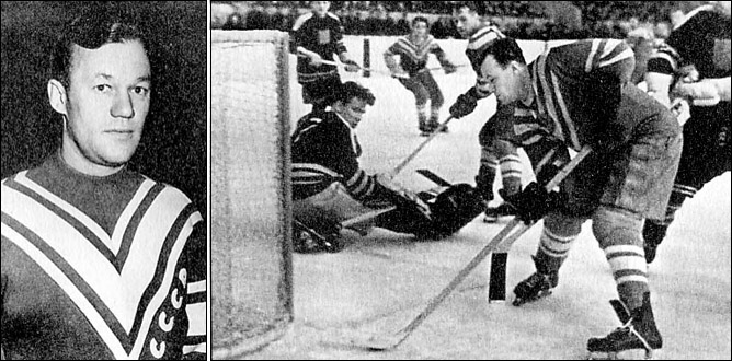 Хоккей. Чемпионат мира-1954. Фото 04.
