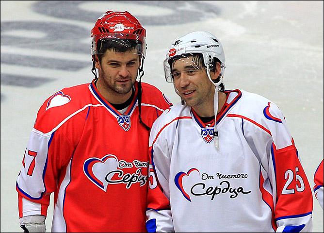 Александр Радулов и Данис Зарипов