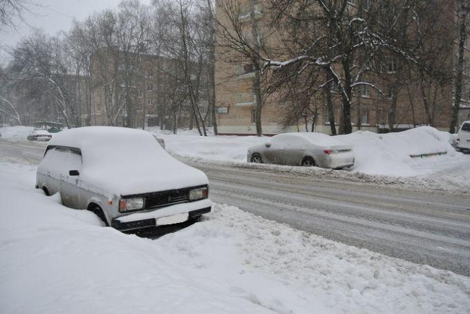 Москва. Конец марта 2013 года