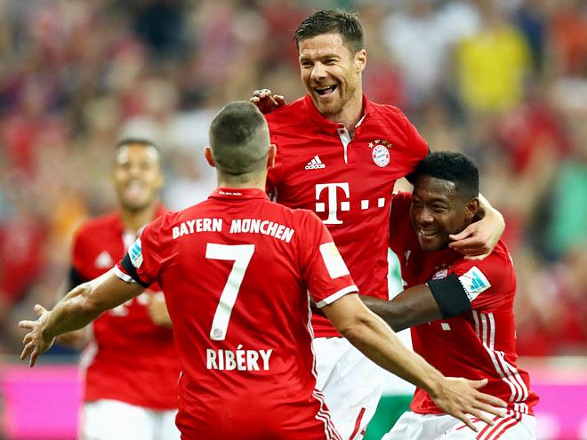 В первом матче нового чемпионата «Бавария» разгромила «Вердер» со счётом 6:0