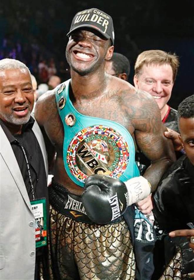 Деонтей Уайлдер — новый чемпион мира по версии WBC в супертяжёлом весе