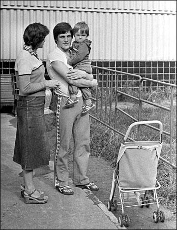 Сергей Макаров с семьей