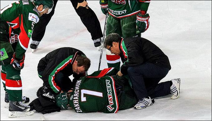 Когда врач на льду — случилось что-то страшное…