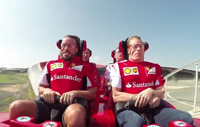 Так выглядели бы Фернандо Алонсо и Кими Райкконен, если бы в Формуле-1 не было шлемов