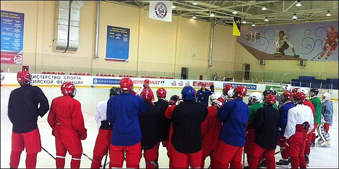 Юниорская сборная России U-16