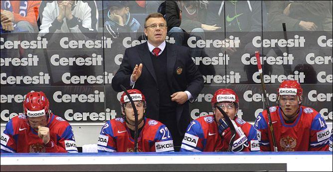 1 мая 2011 года. Братислава. Чемпионат мира. Россия — Словения — 6:4