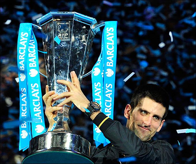 Новак Джокович во второй раз победил на итоговом турнире