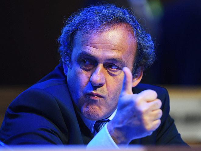 Мишел Платини — президент УЕФА