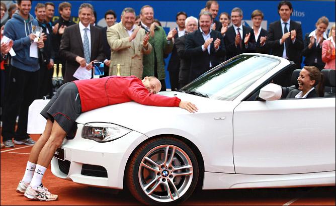 Николай Давыденко и его трофейный BMW