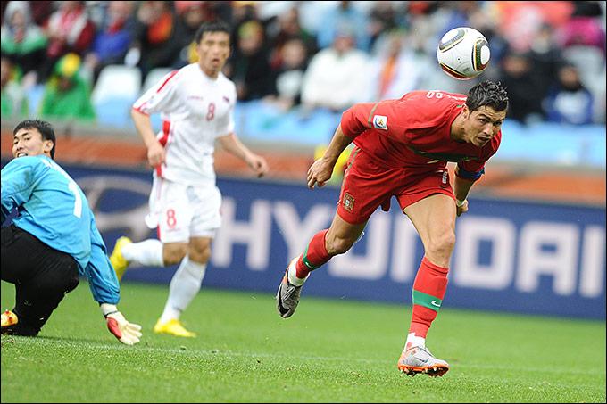 Португалия — КНДР – 7:0, 2010