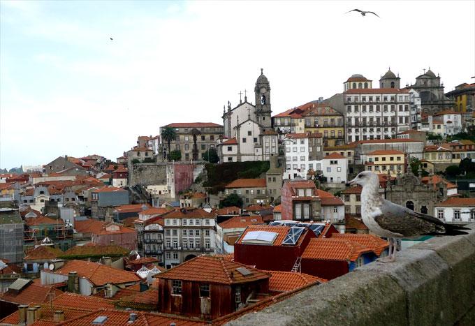Панорама города Порту