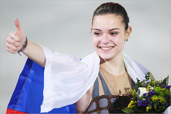 Аделина Сотникова — чемпионка Игр