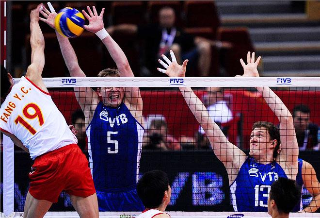 Россия — Китай — 3:0 (25:22, 25:11, 25:21)