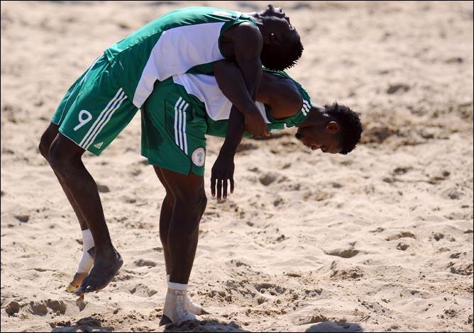 За отсутствием техники атлетичные нигерийцы наверняка будут уповать на потрясающую физическую готовность