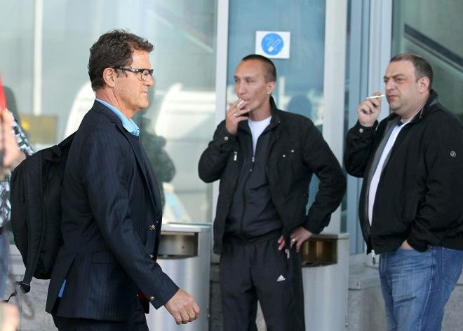 Фабио Капелло прибыл в Москву