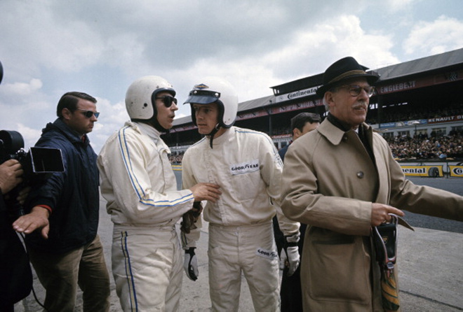 Жан-Клод Килли перед гонкой «1000 миль Нюрбургринга»