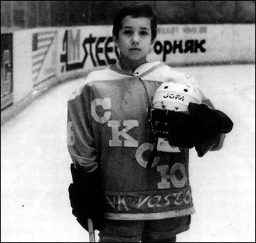 Руслан Абдрахманов в детстве