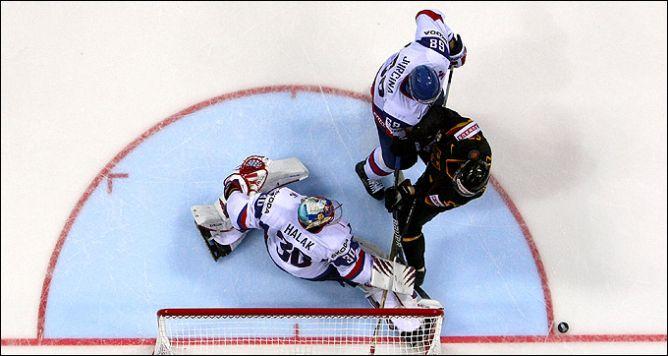 1 мая 2011 года. Братислава. Чемпионат мира. Словакия — Германия — 3:4