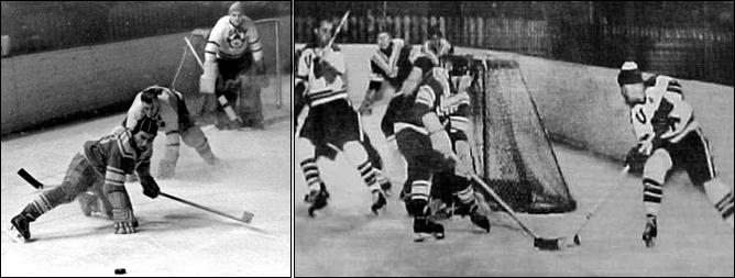 Хоккей. История чемпионатов мира. ЧМ-1955-1962. Фото 02.
