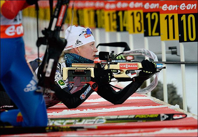 Кайсы Мякяряйнен заняла 46-е место в индивидуальной гонке