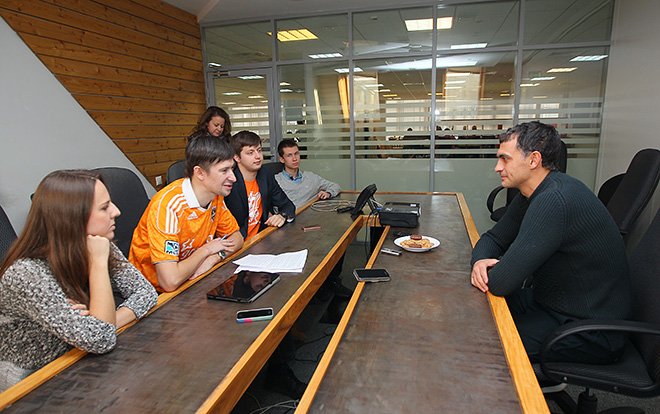 Владимир Габулов в гостях у «Чемпионата»