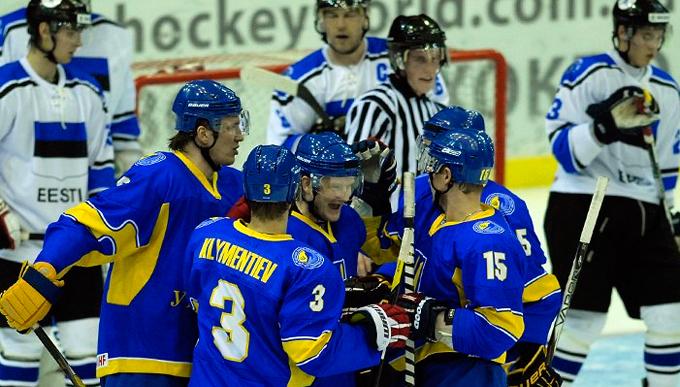 9 ноября 2012 года. Предолимпийский турнир. Киев. Эстония — Украина — 0:10