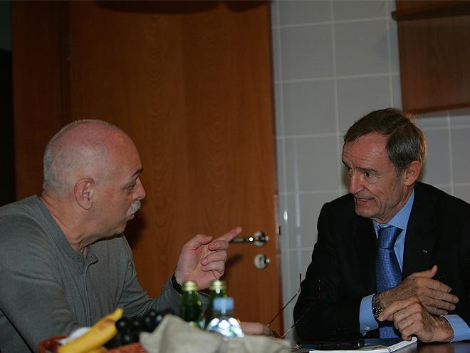 Жан-Клод Килли и Лев Россошик