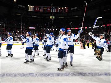 29 декабря 2011 года. Калгари. Молодежный чемпионат мира. США — Финляндия — 1:4