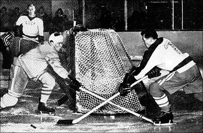 Топ-100 историй ИИХФ. История № 16. Первое Олимпийское золото США-1960. Фото 03.