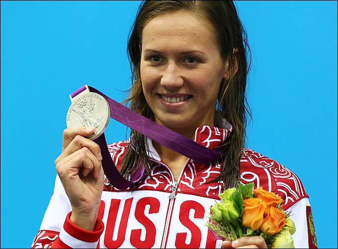 Анастасия Зуева и её олимпийская медаль