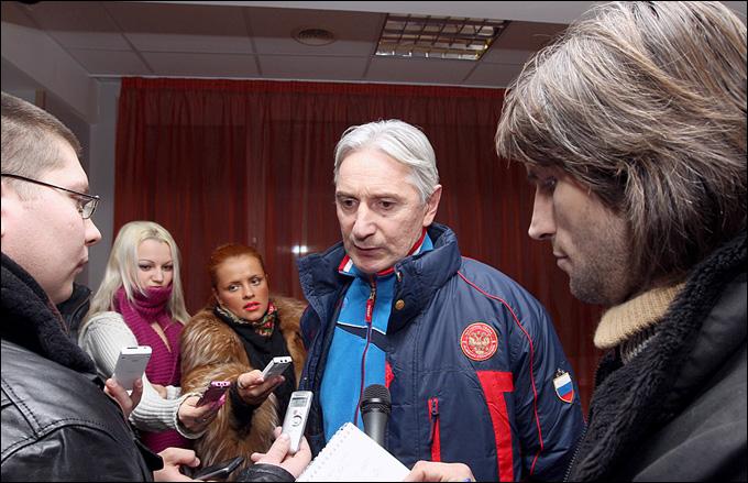 Зинэтула Билялетдинов в Новогорске