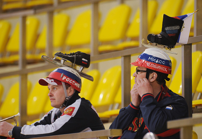 Российские болельщики