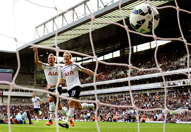 Чемпионат Англии. Премьер-Лига. 1-й тур. «Вест Хэм» — «Тоттенхэм» — 0:1. Победный мяч был забит на 90+3-й минуте