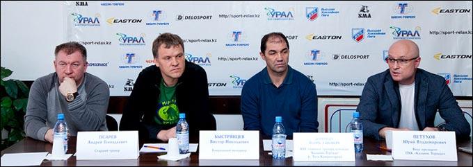 Усть-Каменогорский клуб провел пресс-конференцию по итогам прошедшего сезона
