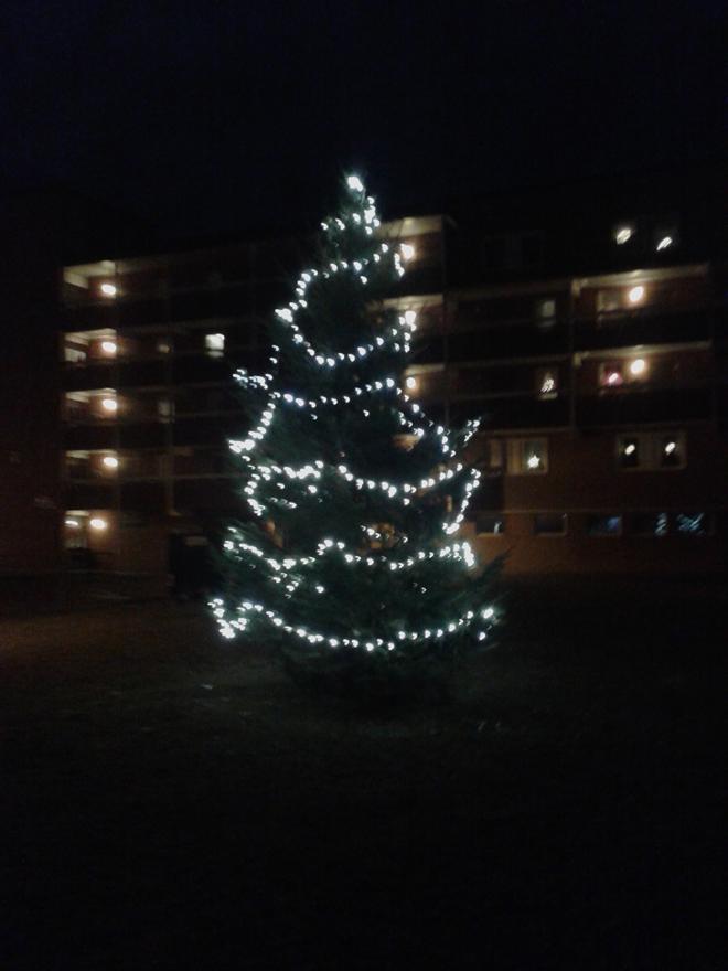 Новогодняя ёлка в Эстерсунде
