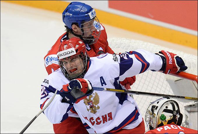 Иван Барбашев на юниорском чемпионате мира