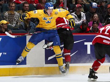 29 декабря 2011 года. Калгари. Молодежный чемпионат мира. Швеция — Швейцария — 4:3 (2:0)