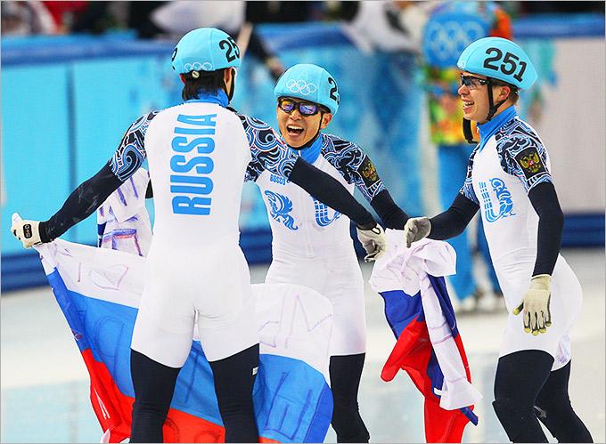 Эстафетная сборная России сильнее всех