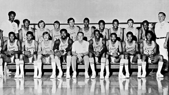 """""""Лейкерс"""" образца сезона-1971/72"""
