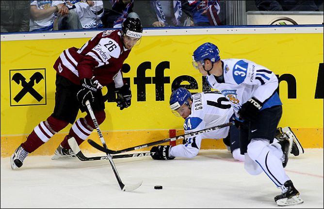 2 мая 2011 года. Братислава. Чемпионат мира. Латвия — Финляндия — 2:3