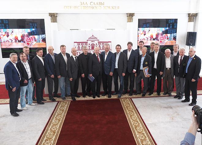 В «Парке Легенд» состоялась торжественная церемония презентации Зала славы отечественного хоккея и открытие музея хоккея