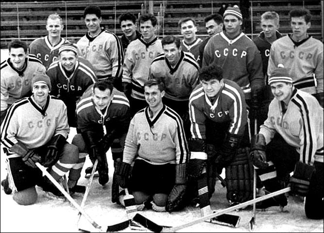Хоккей. История чемпионатов мира. ЧМ-1963-1972. Фото 01.