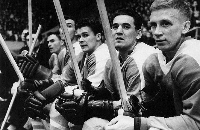 Хоккей. История чемпионатов мира. ЧМ-1963-1972. Фото 02.