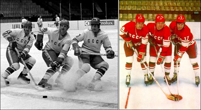 Хоккей. История чемпионатов мира. ЧМ-1963-1972. Фото 09.